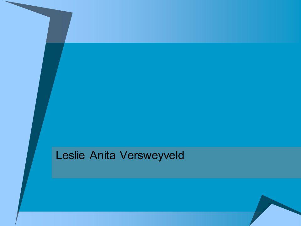 Curriculum Vitae Leslie Anita Versweyveld