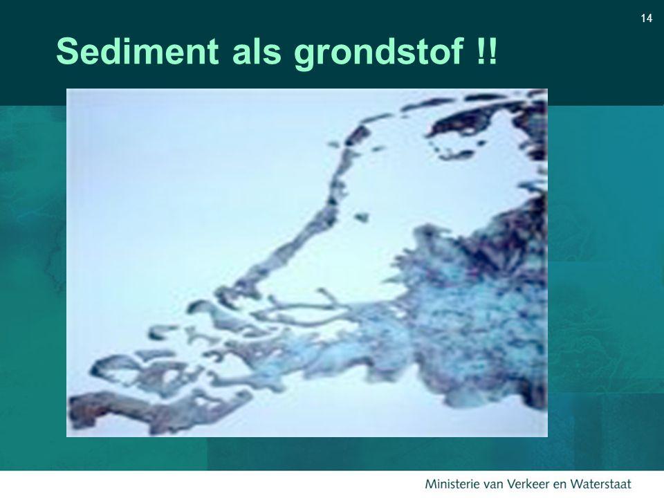 14 Sediment als grondstof !!