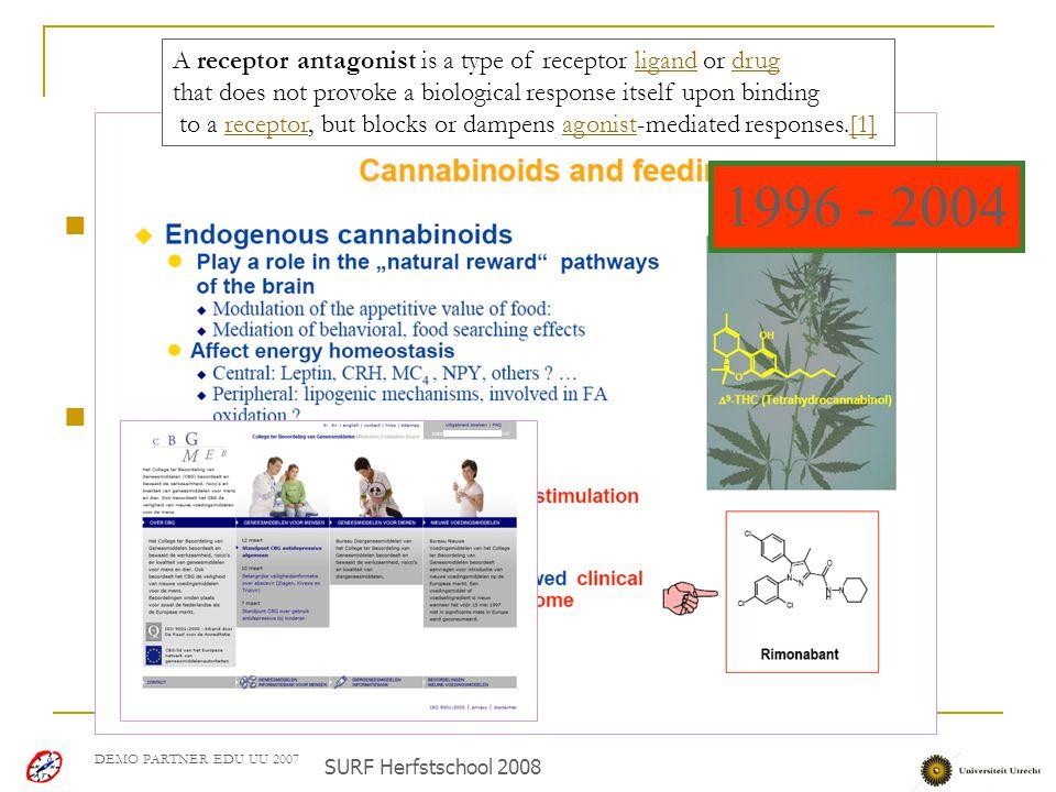 """Casus: Chris Kruse DEMO PARTNER EDU UU 2007 Zoektocht naar innovatieve geneesmiddelen voor de toekomst Doel onderzoek: """"Discovery of Novel Classes of"""