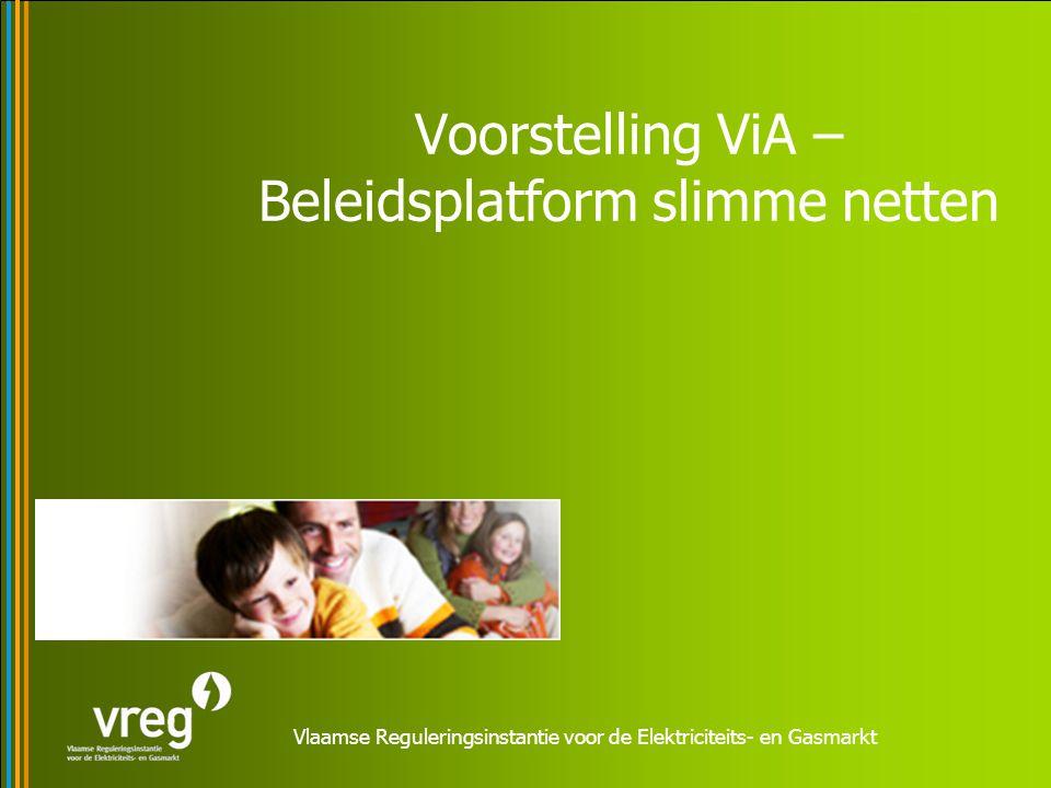 Kader Europese Elektriciteitsrichtlijn Actieplan Vlaanderen in Actie (ViA) Pact 2020 Regeerakkoord Beleidsnota Energie 2009-2014