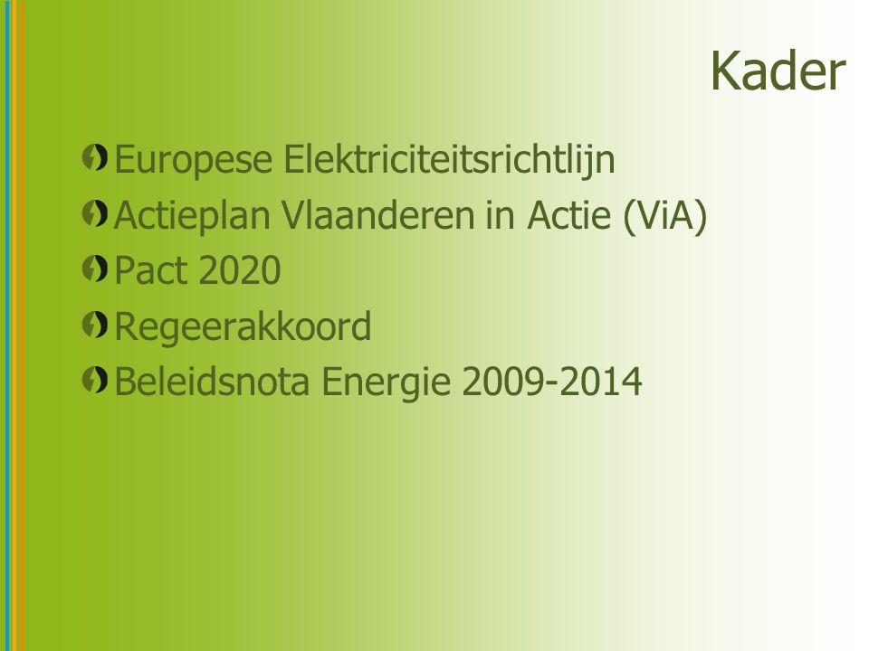 Europese Elektriciteitsrichtlijn De lidstaten waarborgen dat slimme metersystemen worden ingevoerd die actieve participatie van consumenten ondersteunen De invoering van dergelijke metersystemen kan worden onderworpen aan een economische evaluatie van de kosten en baten voor de markt en de individuele consument of onderzoek welke vorm van slim meten economisch haalbaar en kosteneffectief is en welke termijn haalbaar is Een dergelijke evaluatie vindt uiterlijk plaats op 3 september 2012 Wanneer ingebruikname van slimme meters positief wordt beoordeeld, wordt tegen 2020 minstens 80% van de consumenten voorzien van slimme meetsystemen
