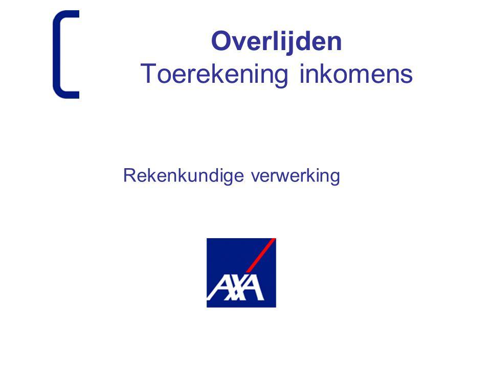  Inleiding  Gevolgen verdeling inkomens  Juridisch kader  Rekenmethoden in verleden en heden  Basis van de schadedefinitie  Bezwaren  Conclusie en vervolg Onderwerpen