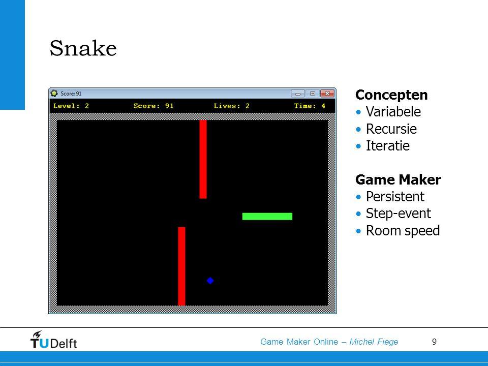 10 Game Maker Online – Michel Fiege Super Mario Concepten Variabele Iteratie Inheritance Game Maker Zwaartekracht Frictie Relative