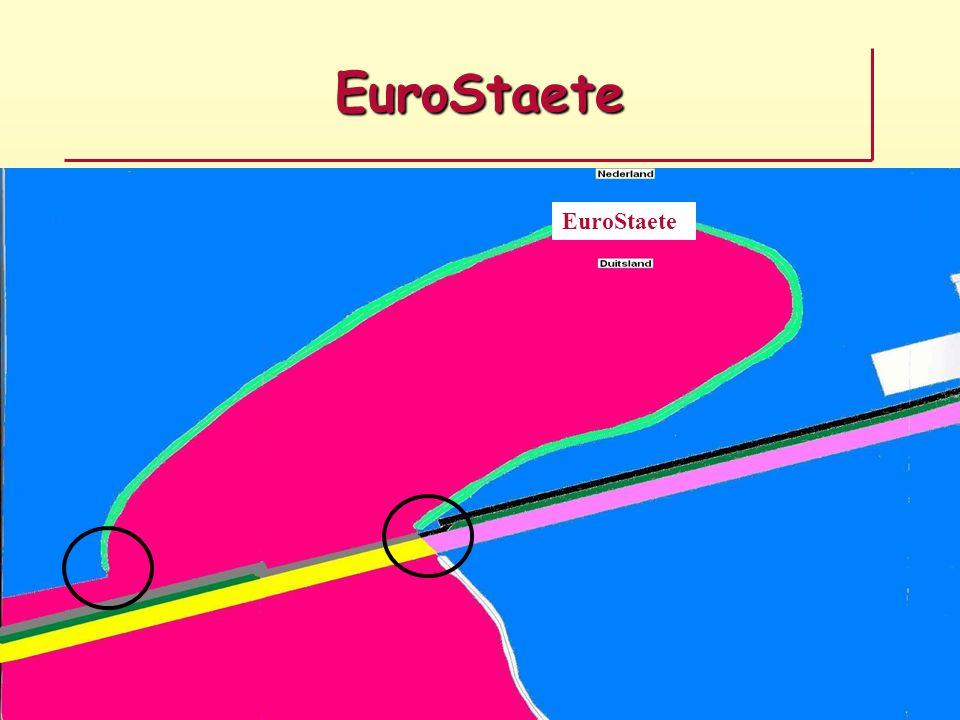 EuroStaete Doelstellingen: –Werken aan een betere wereld dan de huidige –Eerlijke verdeling van onze enorme rijkdommen –Ontwikkelen van nieuwe projecten –Werken aan leugenvrije rechtelijke uitspraken Iedereen is en blijft gelijk