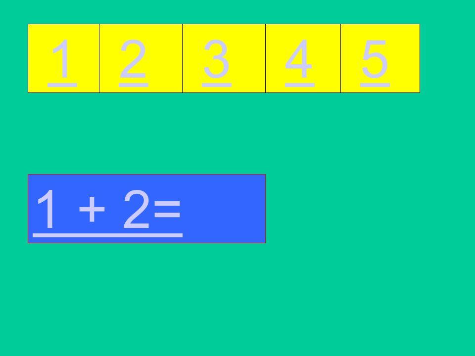 Dit is een rekenspel tot cijfer 5. Druk op het goede cijfer of op de gekleurde vakken om verder te gaan. Doe het niet te vlug, want de computer heeft