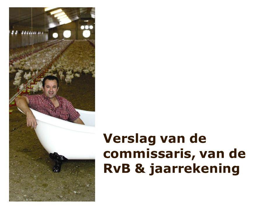 Verslag van de commissaris, van de RvB & jaarrekening