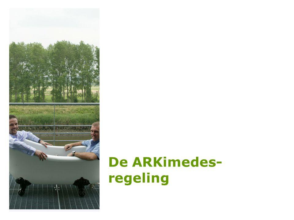 De ARKimedes- regeling