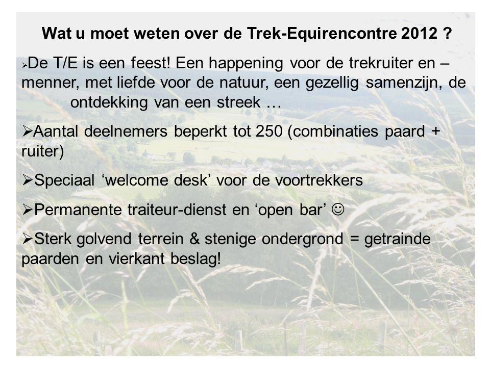 Wat u moet weten over de Trek-Equirencontre 2012 .