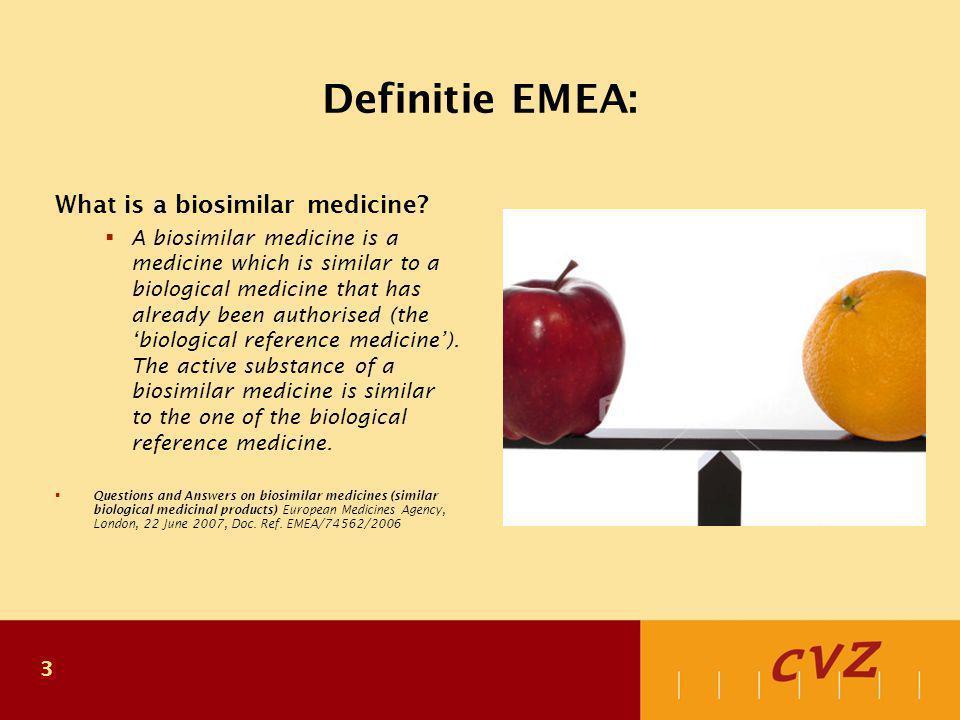 4 Beoordeling biosimilars gelijk aan generiek.