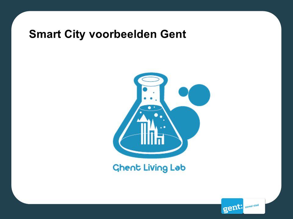 Smart City voorbeelden Gent