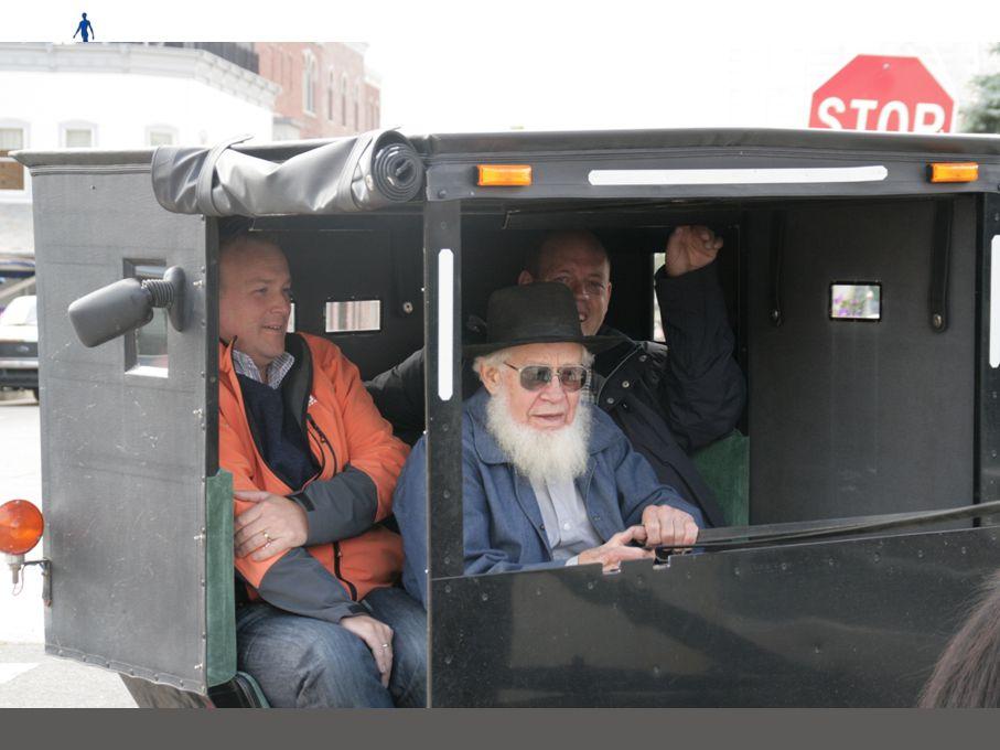 Woensdag 12 US oude stijl Ochtend: Bezoek Amish opfokbedrijf Lunch: Amish Familiestijl lunch in Dutchman Essenhaus Middag: Bezoek Amishdorp Shipshewan