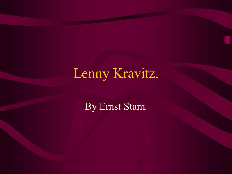 Lenny Kravitz. By Ernst Stam.