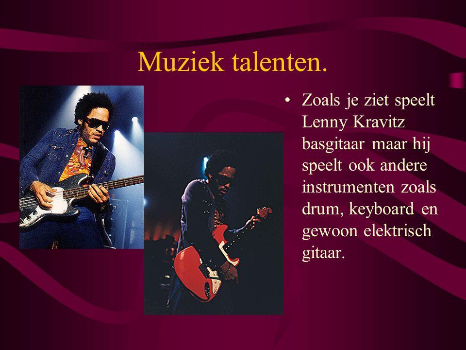 Wat ik vind. Lenny Kravitz is een pop artiest uit Amerika en ik heb zelf ook twee CD's van Lenny Kravitz. Ik vind dat hij mooie muziek maakt. Zeker de