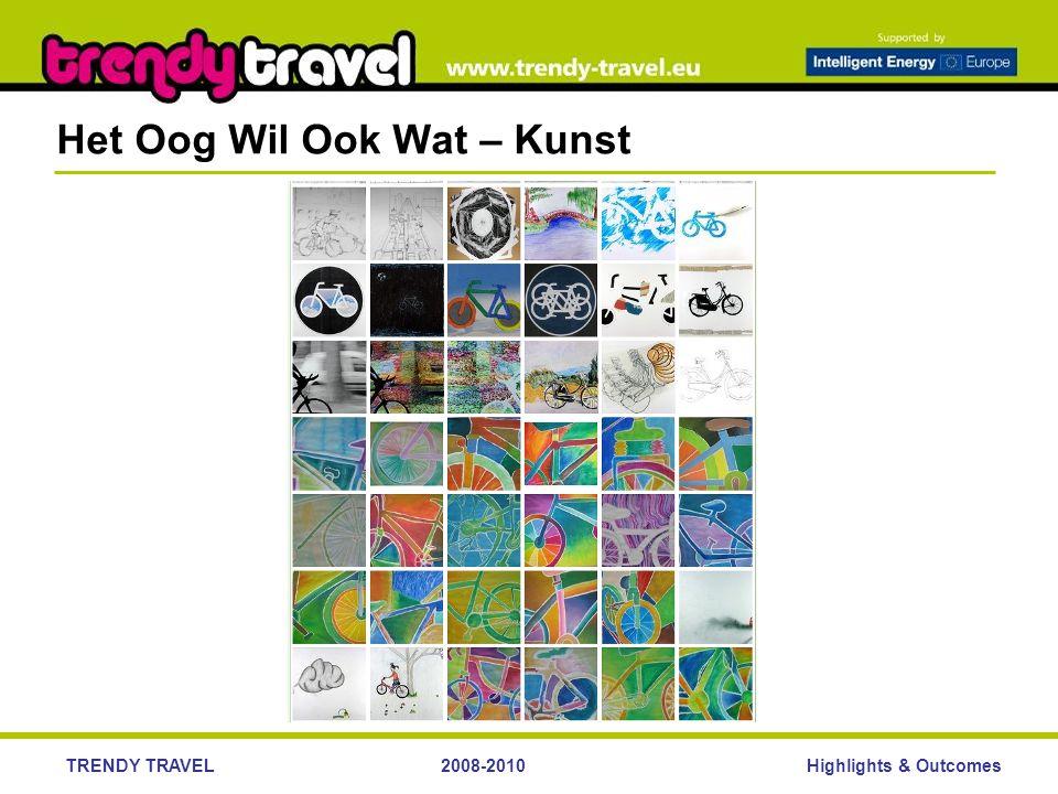Highlights & OutcomesTRENDY TRAVEL2008-2010 Het Oog Wil Ook Wat – Kunst