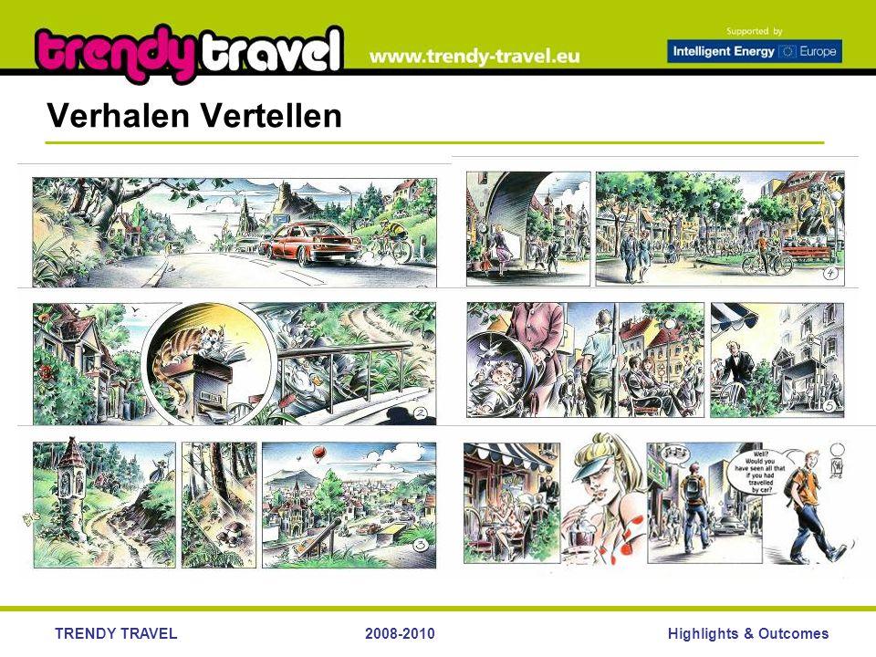 Highlights & OutcomesTRENDY TRAVEL2008-2010 Verhalen Vertellen