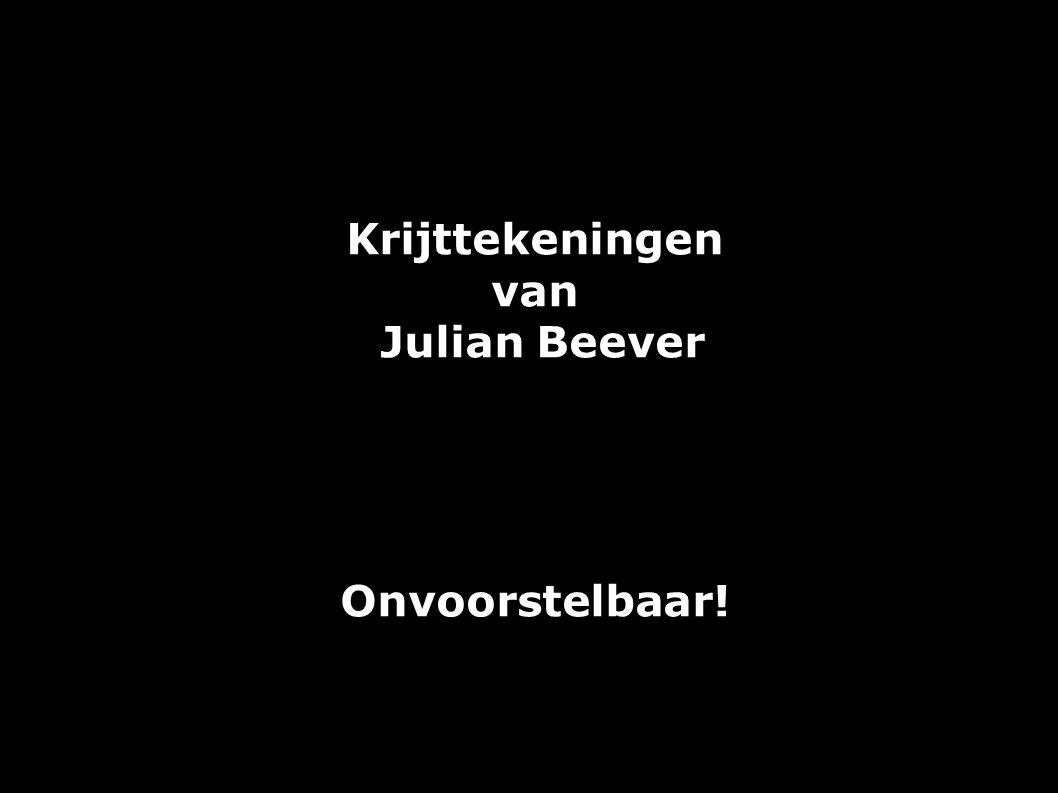 Julian Beever is een Britse kunstenaar, bekend om zijn 3D-krijttekeningen op geplaveide ondergrond.