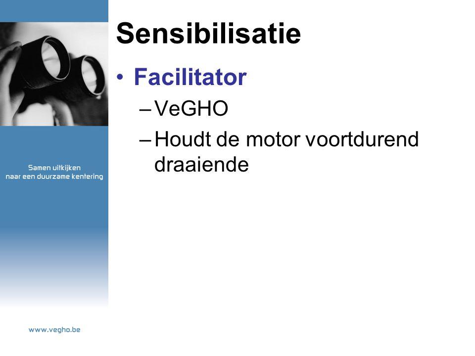 Sensibilisatie Facilitator –VeGHO –Houdt de motor voortdurend draaiende