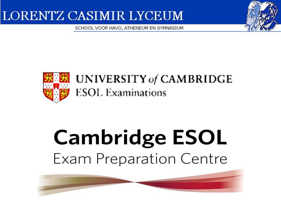 Wat is het Cambridge Certificate.