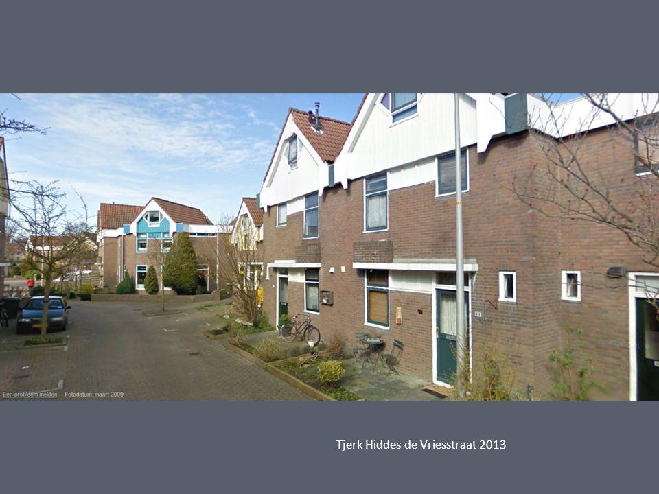 Tjerk Hiddes de Vriesstraat 2013