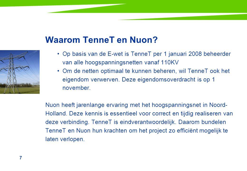 7 Waarom TenneT en Nuon.