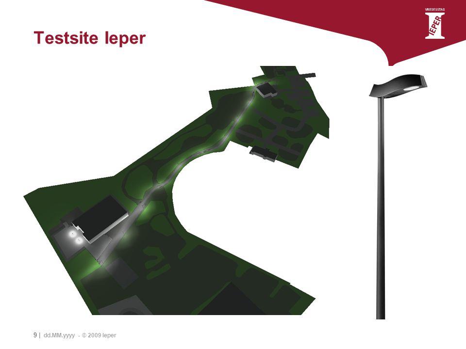 9 | dd.MM.yyyy - © 2009 Ieper Testsite Ieper