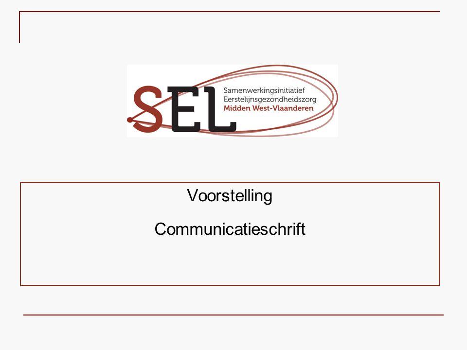 Voorstelling Communicatieschrift
