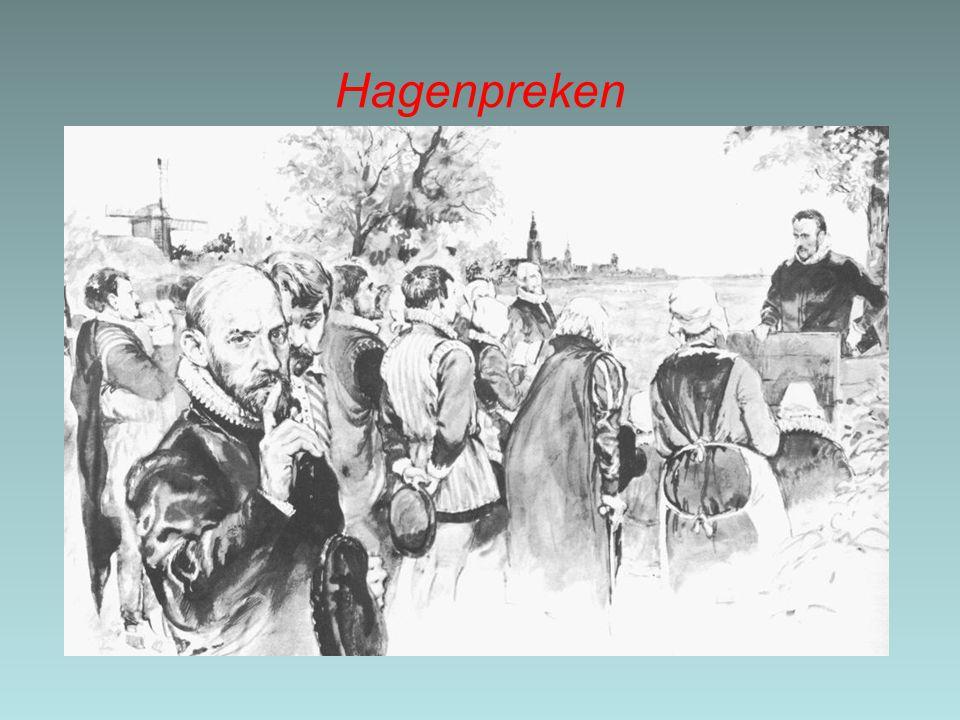 2.2 Opstand in de Nederland (1566-1576) Smeekbede –Om aan de druk op de Nederlanden een einde te maken, sloegen protestanten en gematigde katholieken de handen ineen en overhandigden de landvoogdes, Margaretha van Parma, een smeekschrift/-bede.