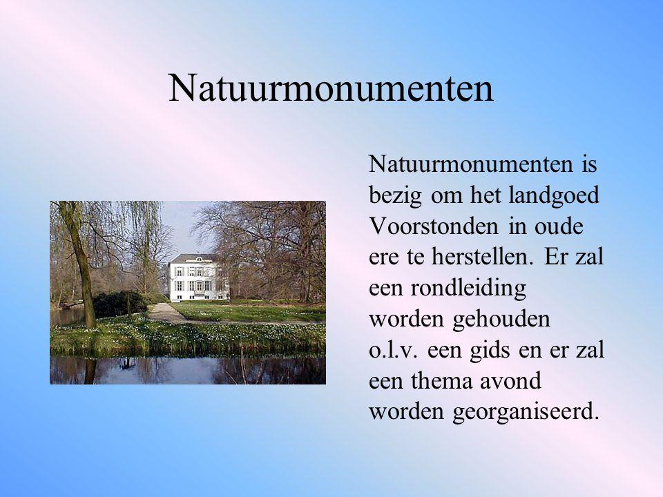 Natuurmonumenten Natuurmonumenten is bezig om het landgoed Voorstonden in oude ere te herstellen.