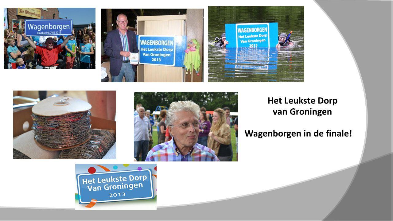 Het Leukste Dorp van Groningen Wagenborgen in de finale!