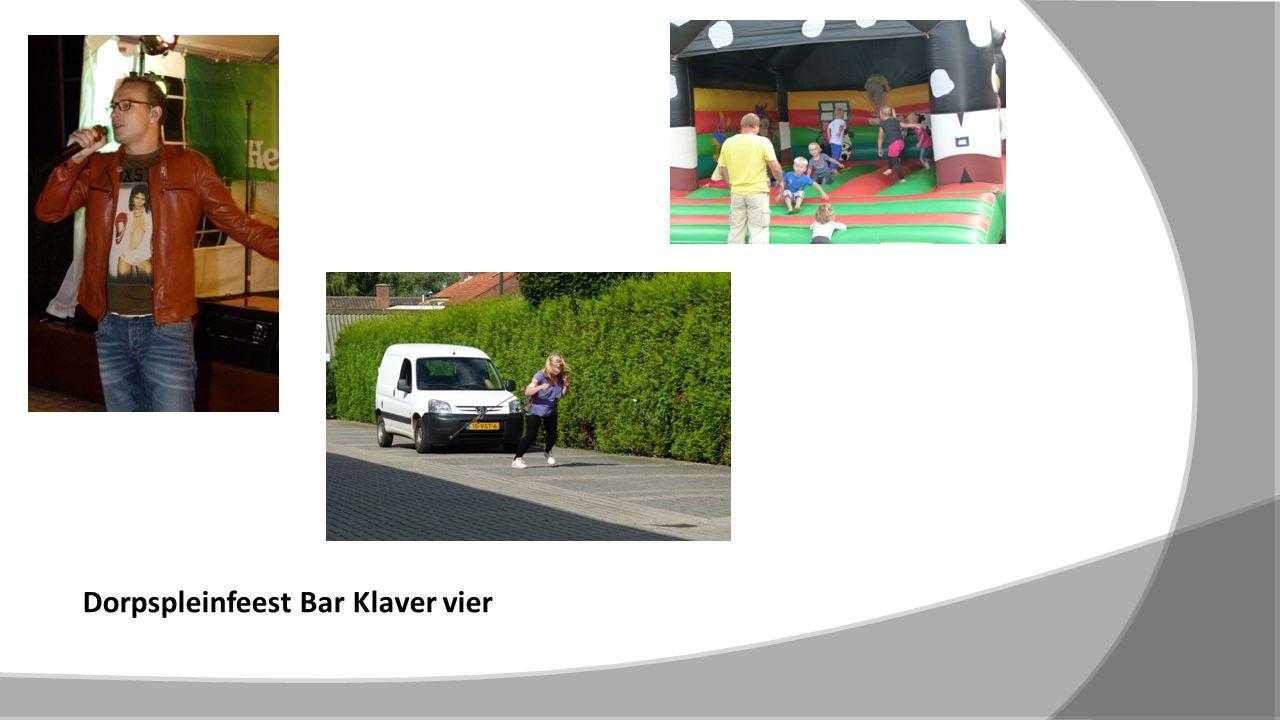Dorpspleinfeest Bar Klaver vier