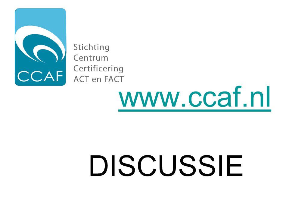 www.ccaf.nl www.ccaf.nl DISCUSSIE