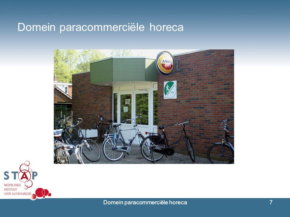 Domein paracommerciële horeca7
