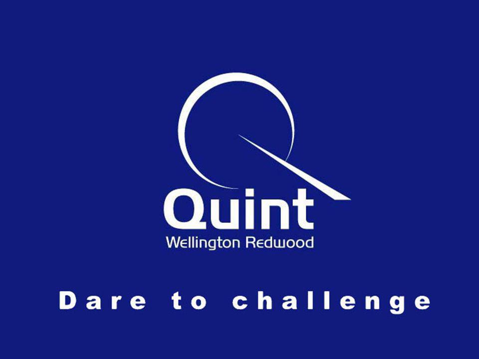 Quint Wellington Redwood ©2002 32 NVvIR w w w.q u i n t g r o u p.