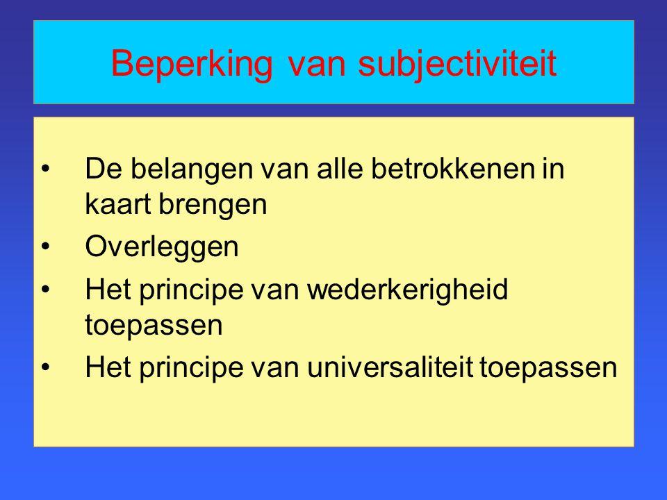 Drie typen ethiek 1.Teleologisch 2.Deontologisch 3.Gezindheidsethiek