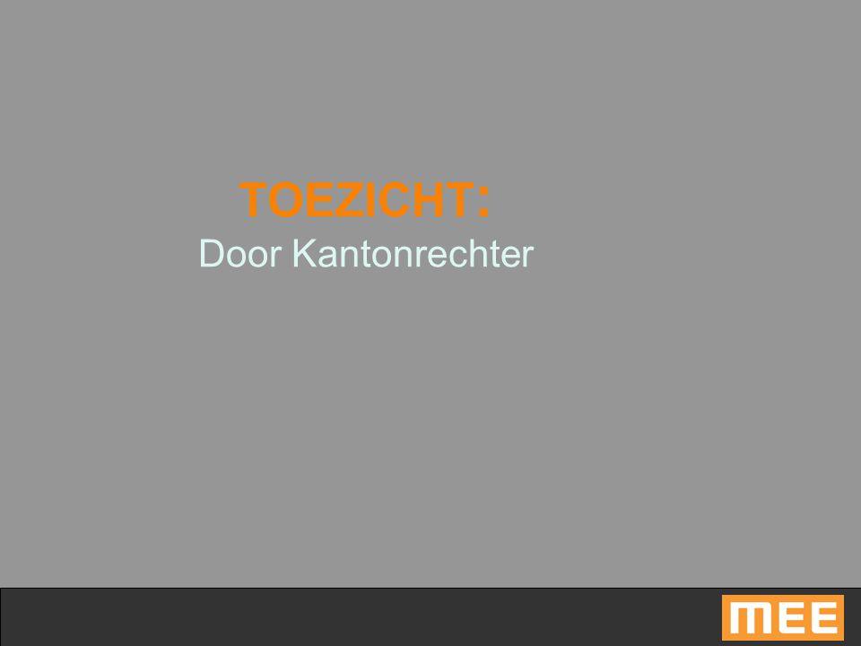 TOEZICHT : Door Kantonrechter
