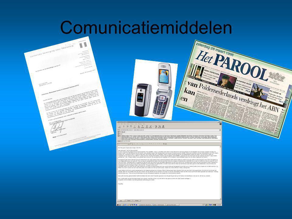 Comunicatiemiddelen