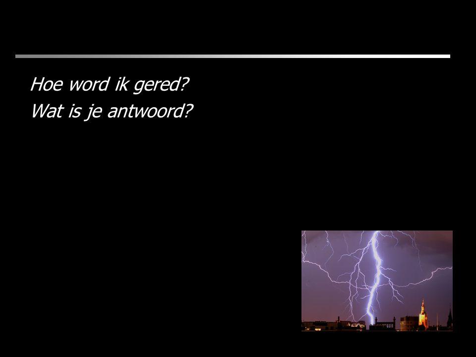 Wat is je antwoord?