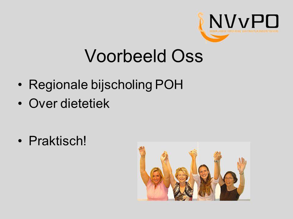 Regionale bijscholing POH Over dietetiek Praktisch!