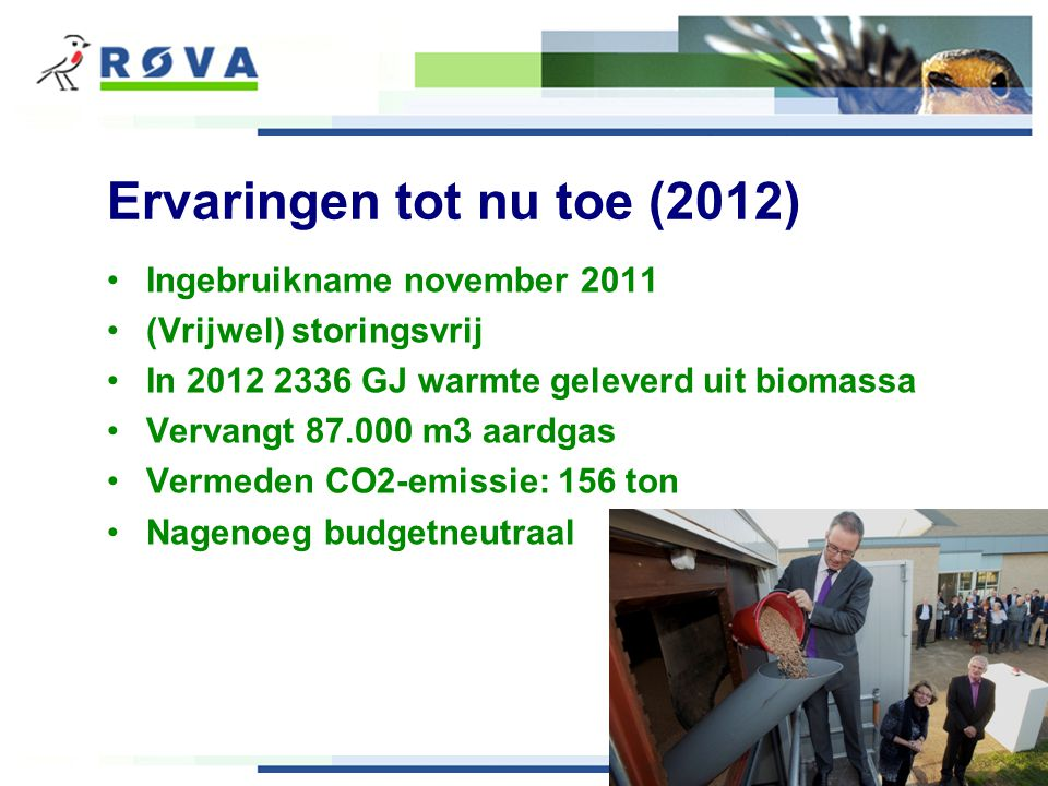 79% duurzame warmte 21% conventioneel (aardgas)