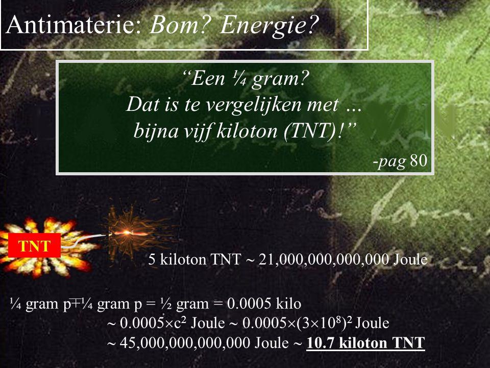 Waar is de Anti-materie heen Positron Emissie Tomografie e + e  
