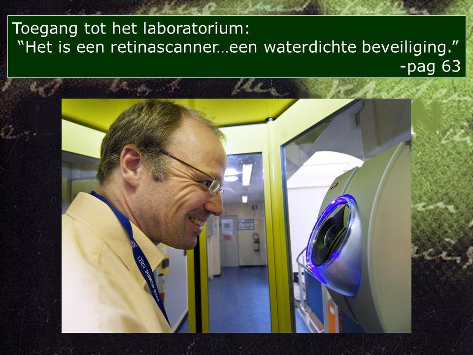 Wilt U zeggen dat CERN miljoenen tonnen aarde heeft weggegraven om piepkleine deeltjes tegen elkaar te laten botsen -pag 57