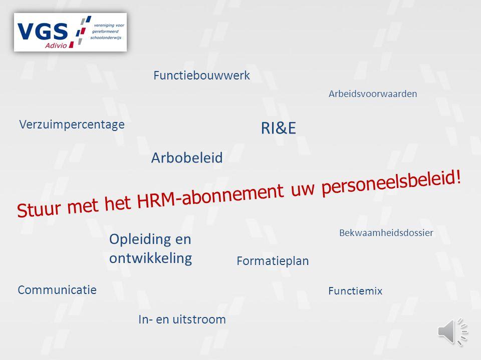 Stuur met het HRM-abonnement uw personeelsbeleid.