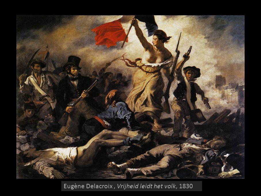 Eugène Delacroix, Vrijheid leidt het volk, 1830