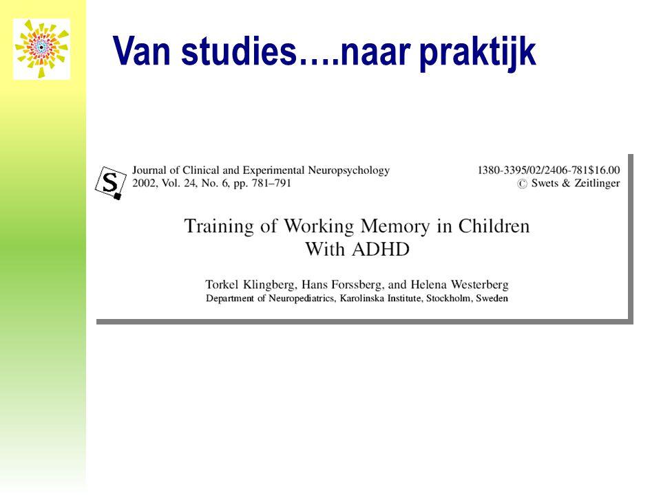 Van studies….naar praktijk