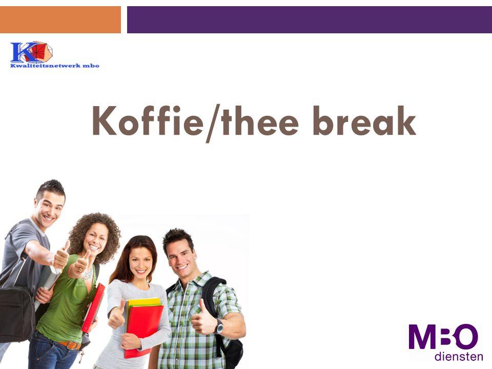 Koffie/thee break