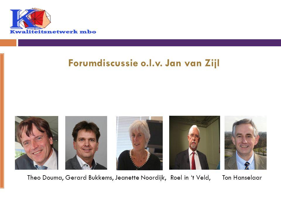 Forumdiscussie o.l.v.
