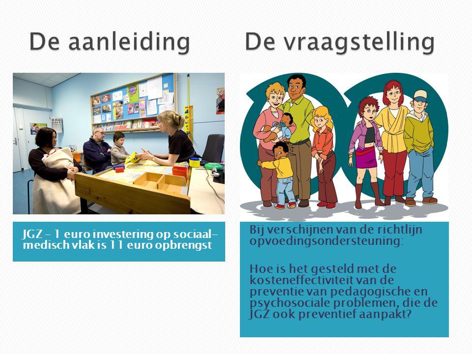Experiment Zoektocht  Beperkt aantal studies in Nederland.