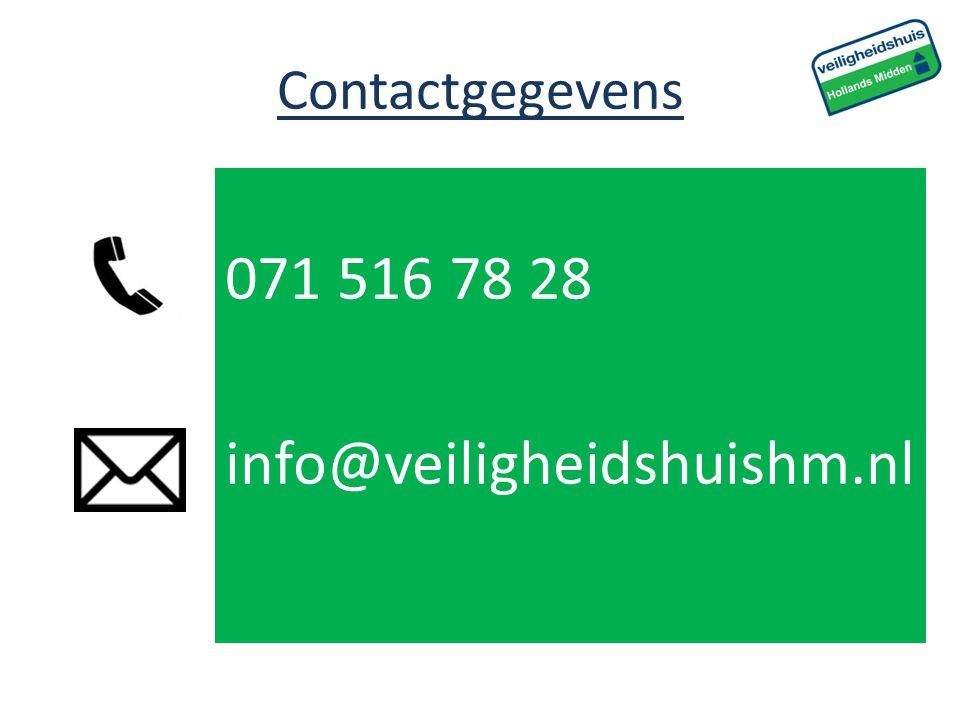 Contactgegevens 071 516 78 28 info@veiligheidshuishm.nl