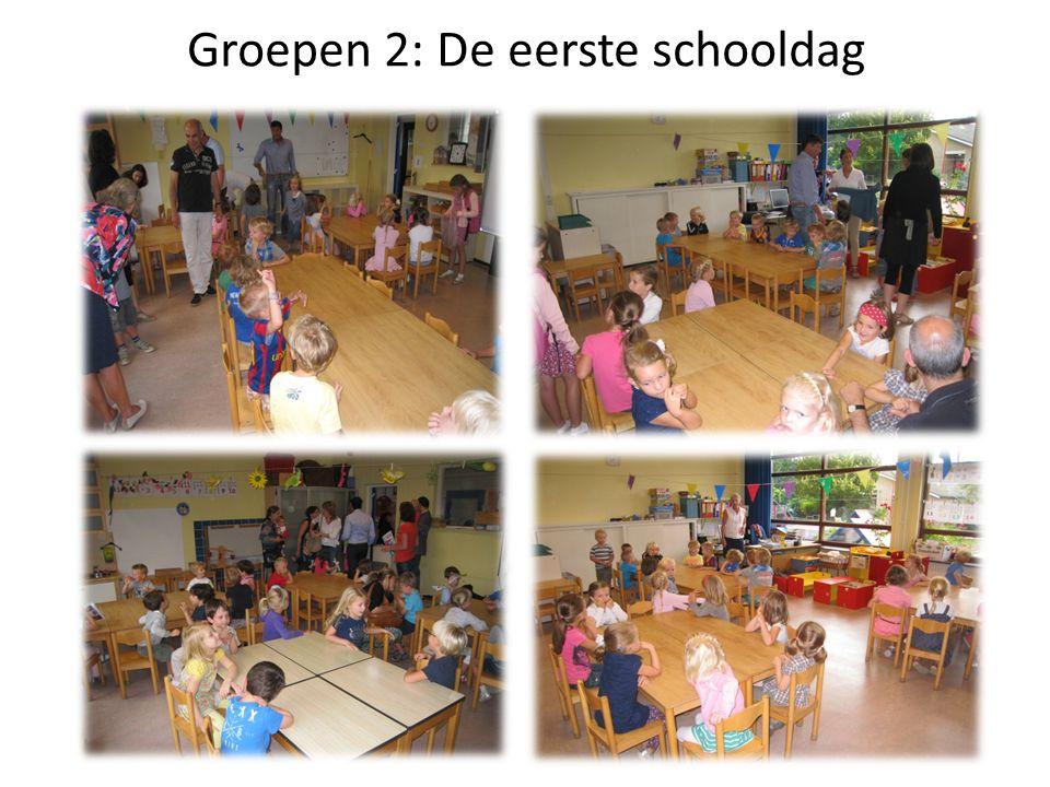 Groepen 2: De eerste schooldag
