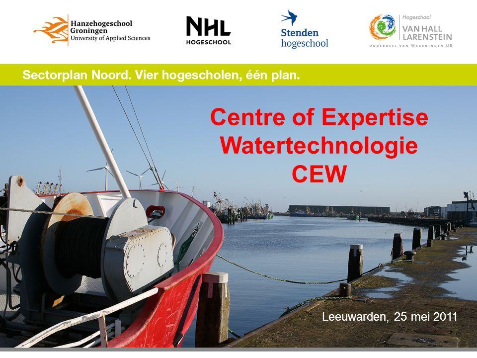 Centre of Expertise Watertechnologie CEW Leeuwarden, 25 mei 2011